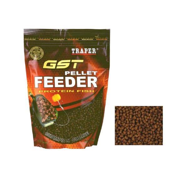 Пелети Traper GST FEEDER MAXI BROWN - 500г