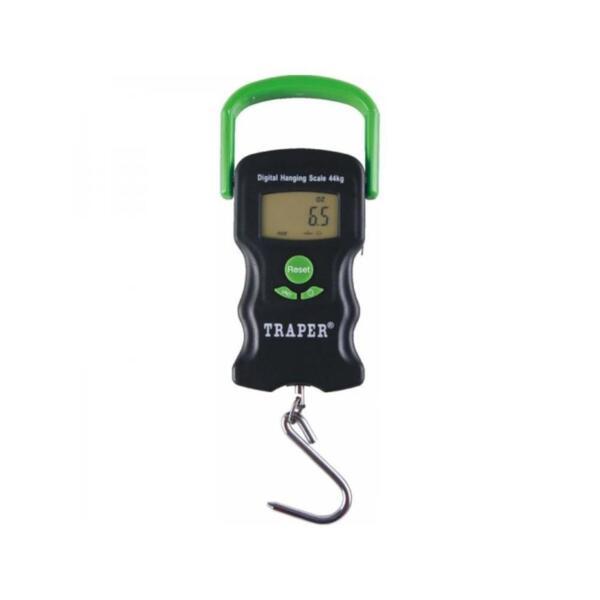 Дигитален кантар TRAPER 44кг с термометър и ролетка