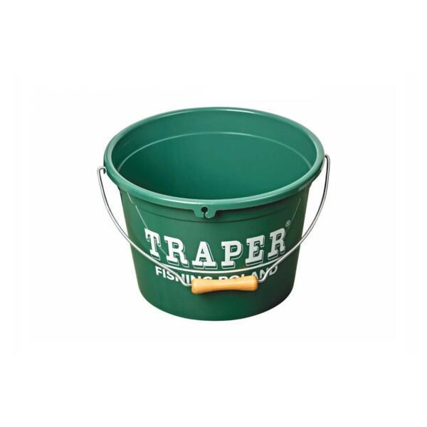 Кофа за захранка Traper 13л - зелена