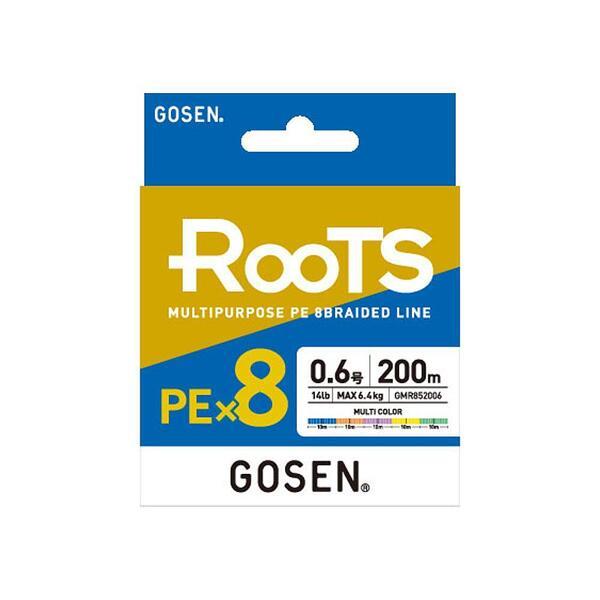Влакно плетено Gosen ROOTS PE X8