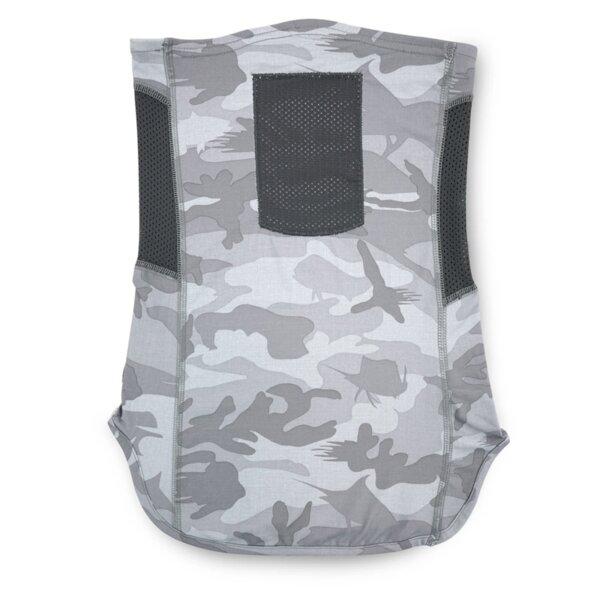 Мултифункционална кърпа/маска за лице PELAGIC UPF 30+ SUNSHIELD PRO FISHING NECK GAITER FISH CAMO Light Grey