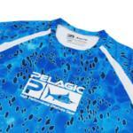 Тениска с дълъг ръкав UPF 50+ PELAGICVAPORTEK LONG SLEEVE PERFORMANCE SHIRT Dorado Blue