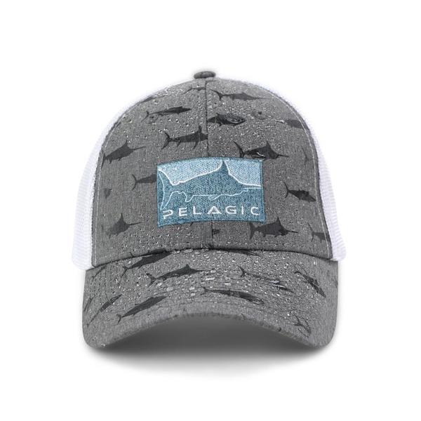 Шапка PELAGIC HYBRID DEEP SEA OFFSHORE FISHING HAT Light Grey