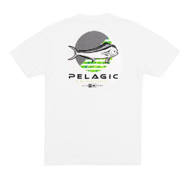 Тениска с къс ръкав PELAGICDORADO DOT PREMIUM T-SHIRT White