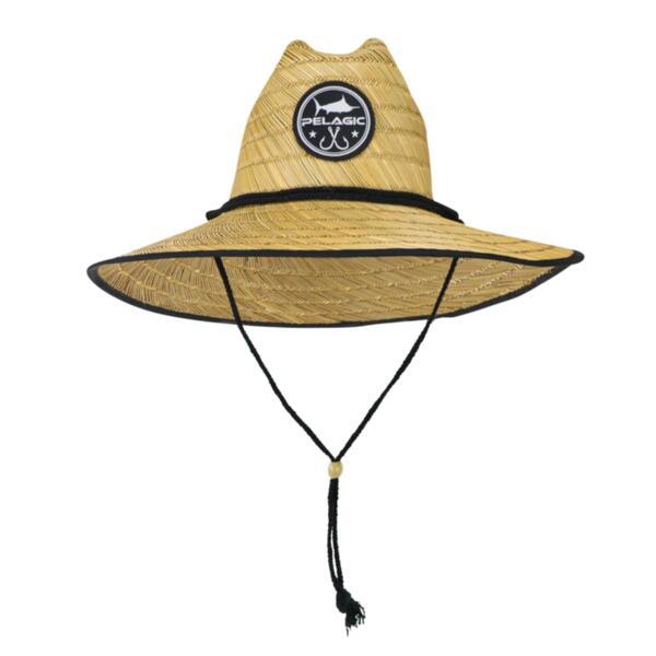 Сламена шапка с периферия PELAGIC BAJA STRAW HAT SUN HAT KHAKI