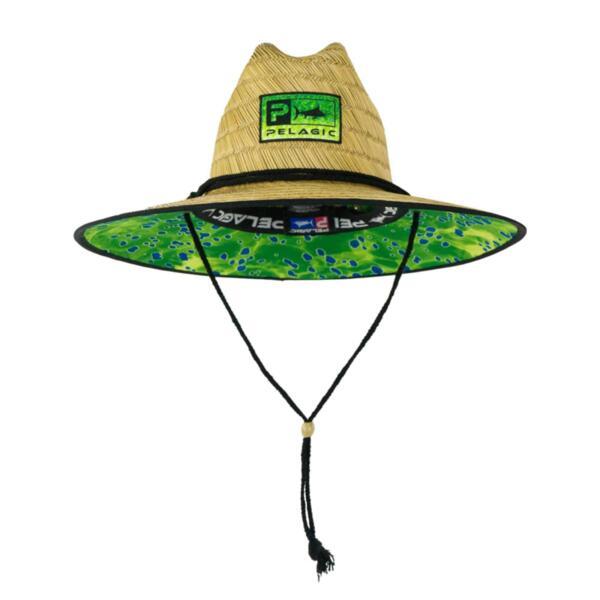 Сламена шапка с периферия PELAGIC BAJA STRAW HAT GREEN DORADO