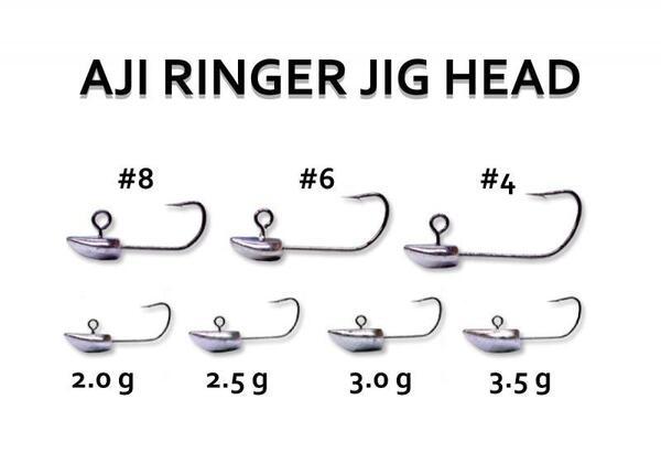 Джиг глави Reins Ajiringer Jighead