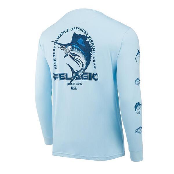 Тениска с дълъг ръкав UPF 50+ PELAGIC FLYING SAILFISH AQUATEK LBL