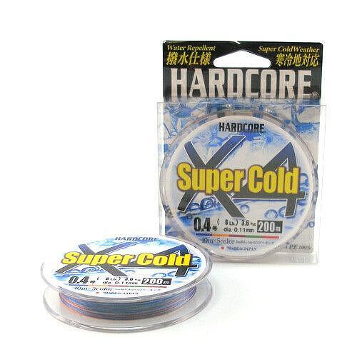 Плетено влакно DUEL Super Cold 4 200м Multicolor