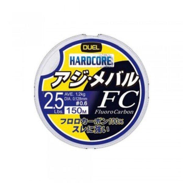 Флуорокарбон Hardcore FC Fluorocarbon 150м DUEL