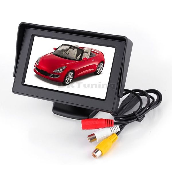 """Цветен LCD дисплей 4,5"""" за камера за задно виждане"""