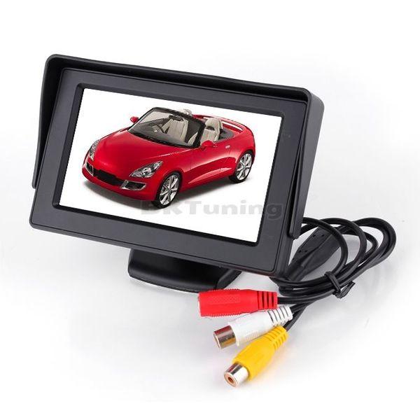 LCD Дисплей с функция за прибиране за камера за задно виждане 4.5''