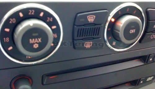 Рингове за копчетата на парното БМВ Е46 (98-05) - хром