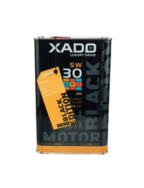 XADO Atomic Oil BLACK EDITON 5W-30 SM моторно масло 4L