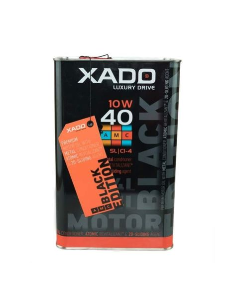 ХADO Atomic Oil BLACK EDITION 10W-40 SL/CI-4