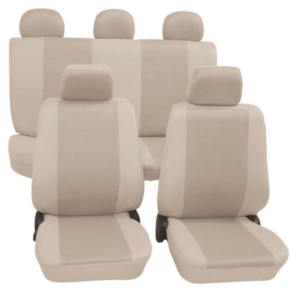 """Тапицерия за седалка Petex Eco-Class """"Sydney"""" от 11 части, бежова"""