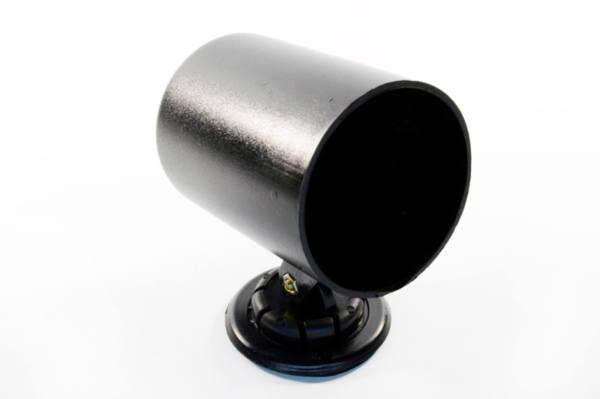 Стойка за 1 измервателен уред, черна за табло