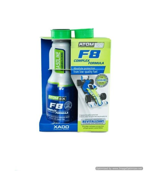 XADO ATOMEX F8 Complex Formula бензин 225ml