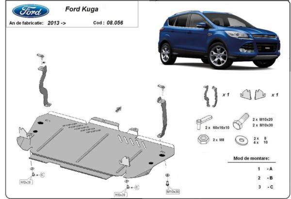 Метална кора под двигател и скоростна кутия FORD KUGA от 2013
