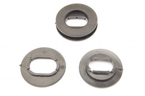 Пластмасови щипки за закрепяне на стелки към пода - елипсовидни