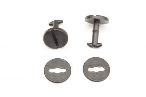 Пластмасови щипки за закрепяне на стелки към пода - за БМВ