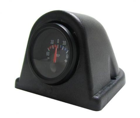 Стойка за 1 измервателен уред, черна за табло - статична