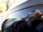 MERCEDES GLE Coupe C292 5 врати 2016г → комплект ветробрани за предни врати 2 части