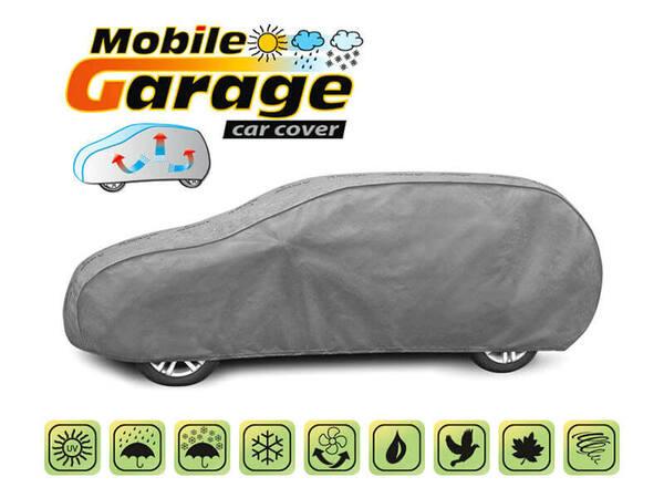 Покривало за кола Kegel серия Mobile размер XL (485x187x122) сиво за хечбек и комби