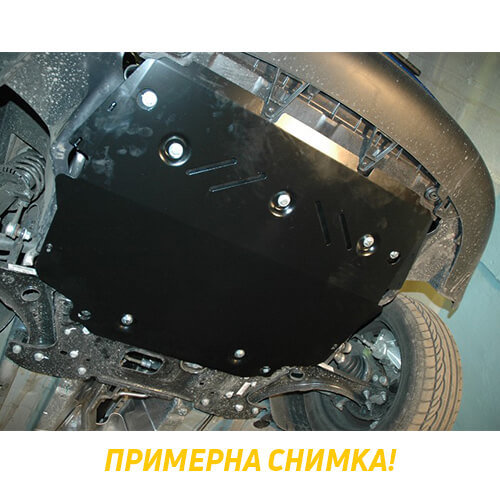 Метална кора под скоростната кутия и диференциал NISSAN NAVARA от 2005 до 2010