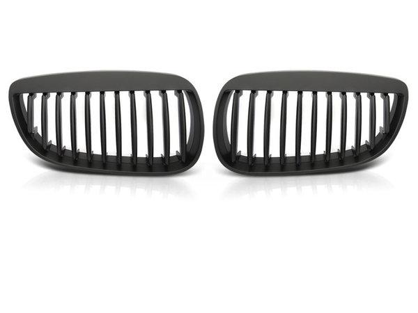 Тунинг решетки бъбреци черни за BMW E92 07-10 C/C