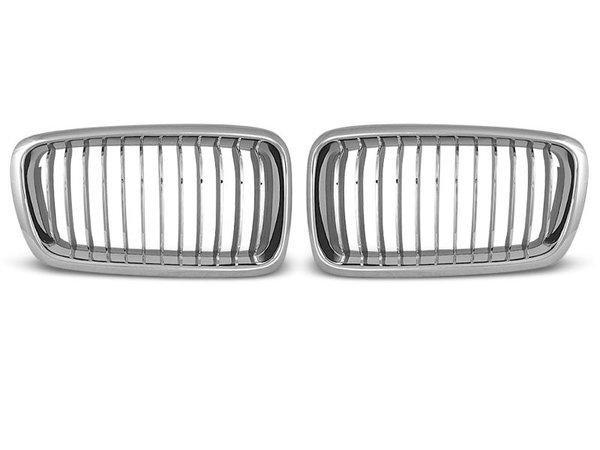 Тунинг решетки бъбреци за BMW E38 06.94 - 07.01 хром