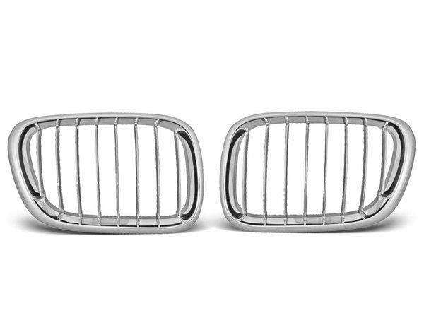 Тунинг решетки бъбреци за BMW X5 E53 09.99-10.03 хром