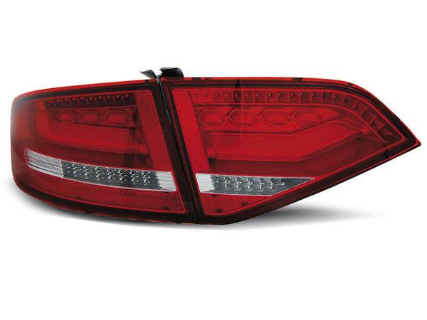 Тунинг LED стопове за Audi A4 B8 2008-2011 седан, версия без фабрични led стопове