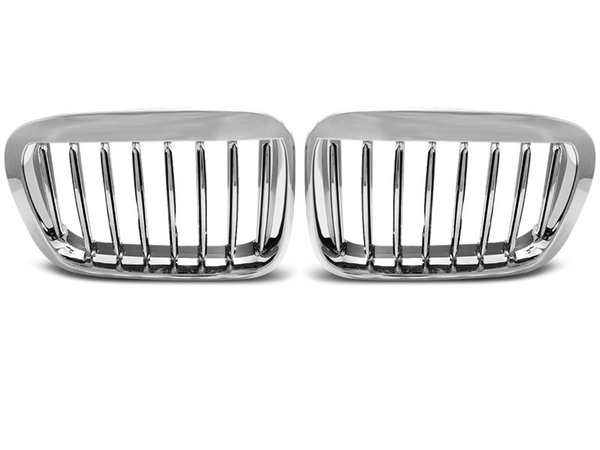 Тунинг решетки бъбреци хром за BMW E46 05.98-08.01 S/T