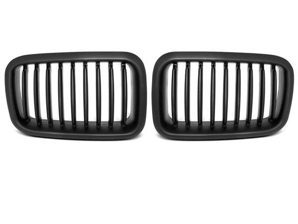 Тунинг решетки бъбреци черни за BMW E36 12.90-09.96