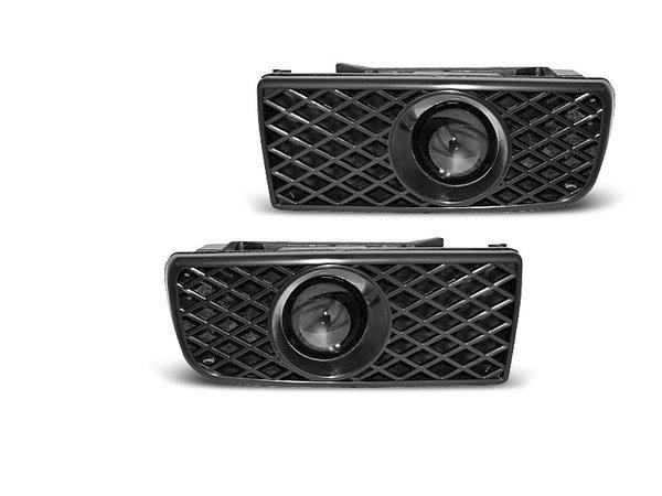 Тунинг халогени черни с лупи за BMW E36