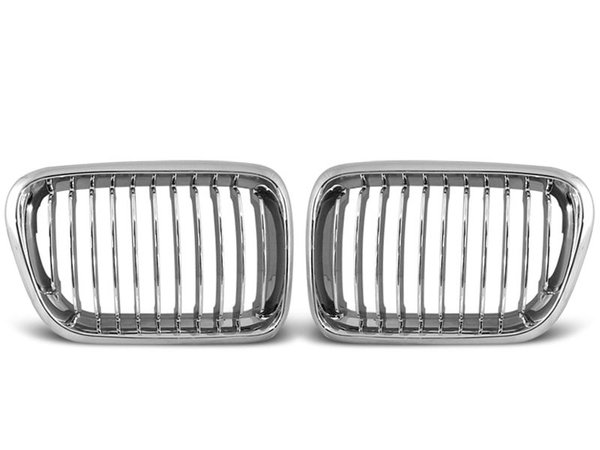 Тунинг решетки бъбреци хром за BMW E36 10.96-08.99