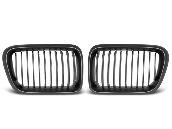 Тунинг решетки бъбреци черни за BMW E36 10.96-08.99