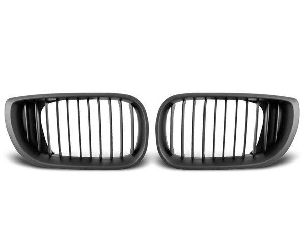 Тунинг решетки бъбреци черни за BMW E46 09.01-03.05