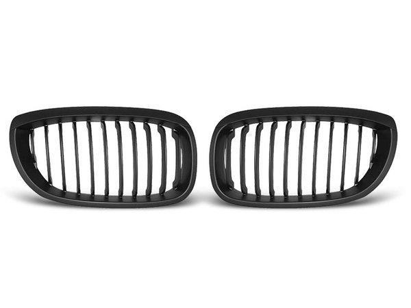Тунинг решетки бъбреци черни за BMW E46 04.03 - 2006 COUPE