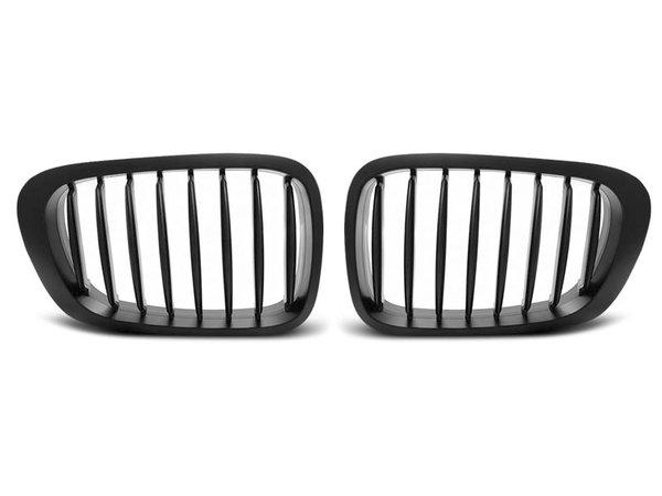 Тунинг решетки бъбреци черни за BMW E46 04.99-03.03 COUPE