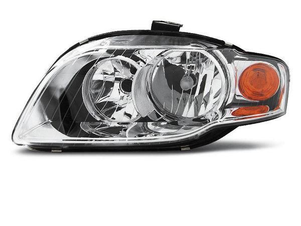 Тунинг ляв рефлекторен фар за Audi A4 B7 11.2004-03.2008 седан/комби/кабрио