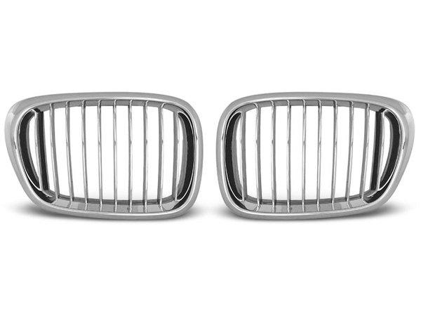 Тунинг решетки бъбреци хром за BMW E39 09.95-06.03