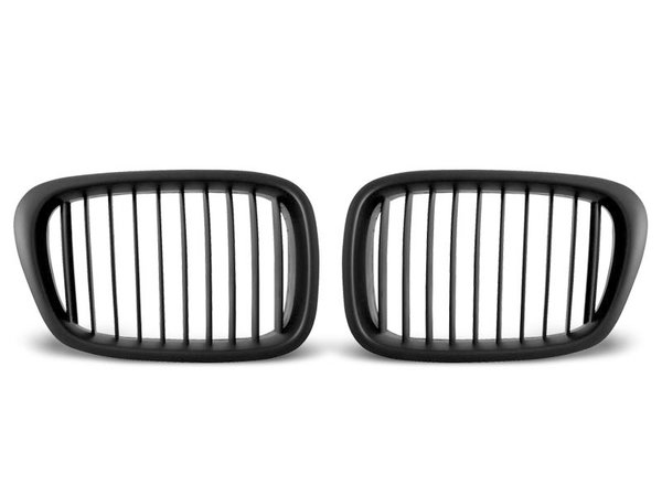 Тунинг решетки бъбреци черни за BMW E39 09.95-06.03