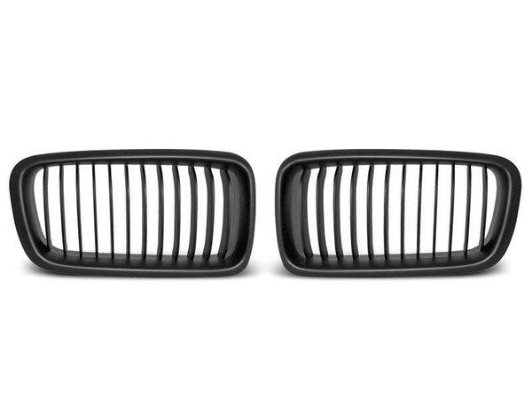Тунинг решетки бъбреци черни за BMW E38 06.94 - 07.01