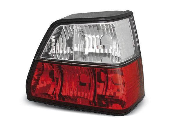 Тунинг стопове за Volkswagen GOLF 2 08.1983-08.1991 хечбек с червена и бяла основа