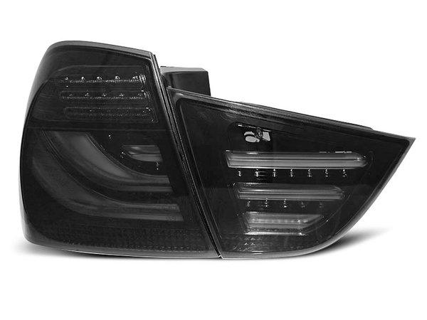 Тунинг LED стопове опушени за BMW E90 2009-2011