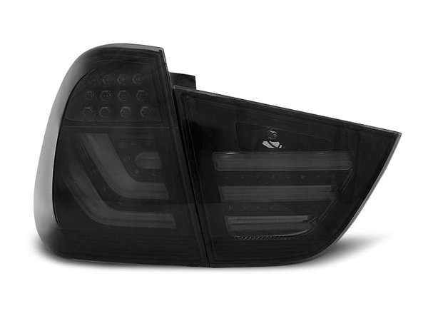 Тунинг LED стопове D2 опушени за BMW E91 2009-2011