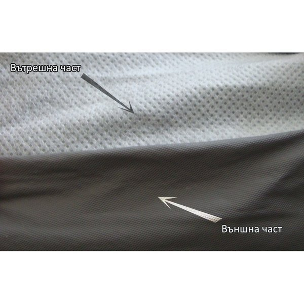 Ватирано покривало за Джип / Миниван размер 4X4 483*185*152cm