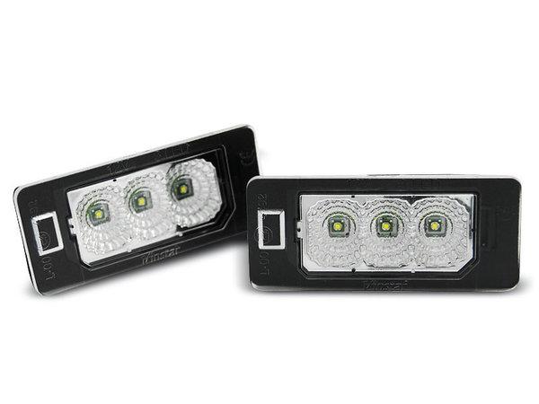 Тунинг плафони LED за AUDI Q5 / A4 08-10 / A5 / TT / VW PASSAT B6 KOMBI CREE CANBUS